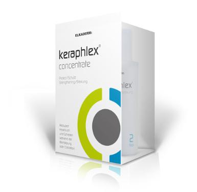 keraphlex ist ein 3-Step-System mit einem neuartigen, proteinbasierenden Wirkstoffkomplex.